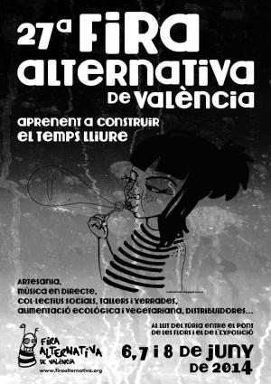 Cap a la Fira Alternativa de València mo n'anem
