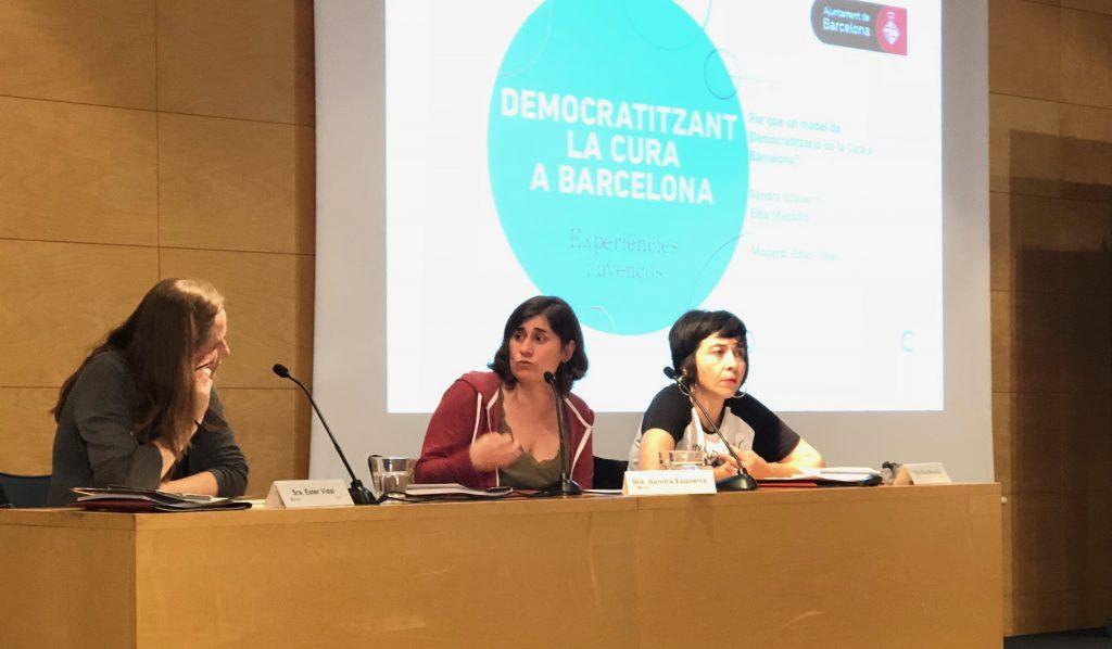 Economia de les cures i política municipal: cap a una democratització de la cura a la ciutat de Barcelona
